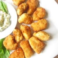 Nugget Gà (Chicken Nuggets) với sốt Tartar