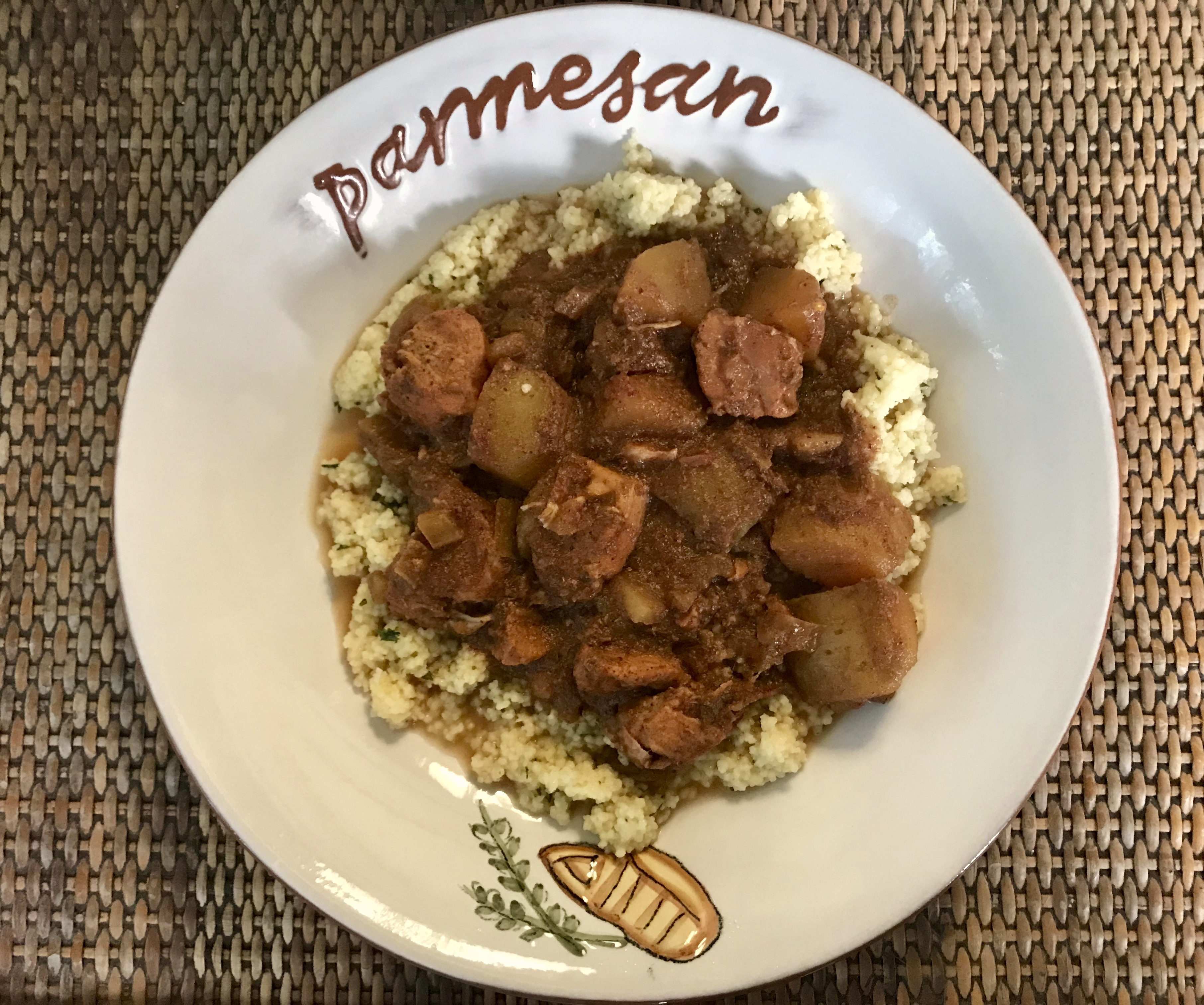 Slow Cooked Moroccan Chicken Stew