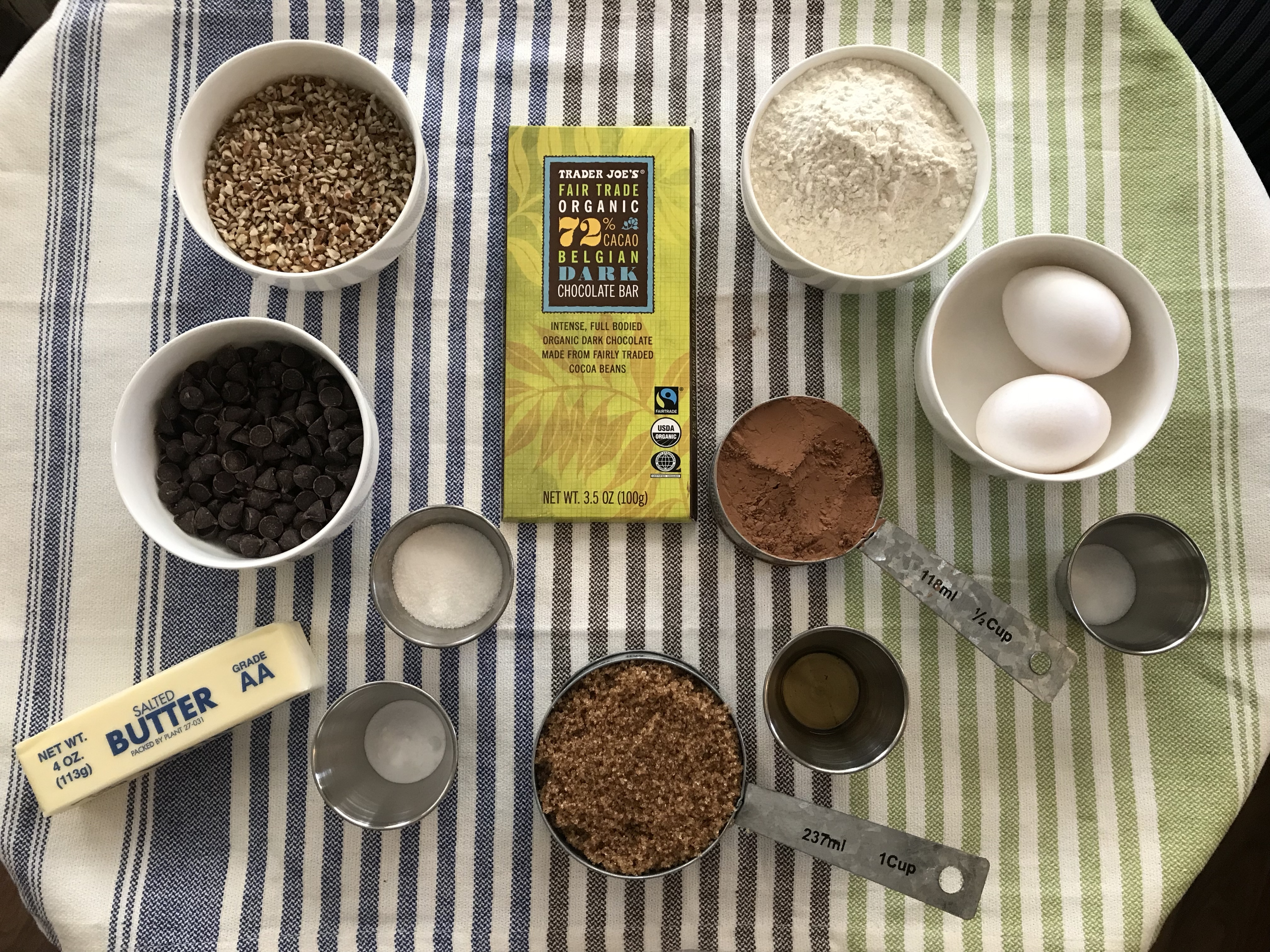 Ingredients for Seriously Chocolate Cookie