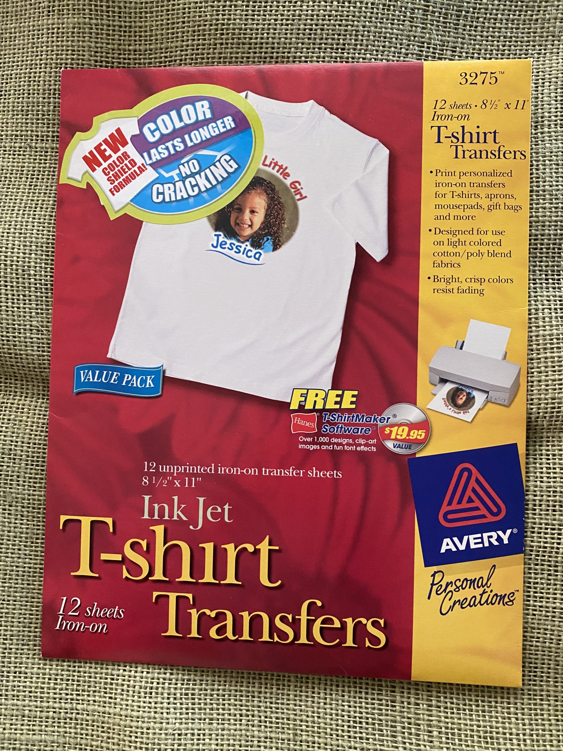 Iron on Transfer Sheets