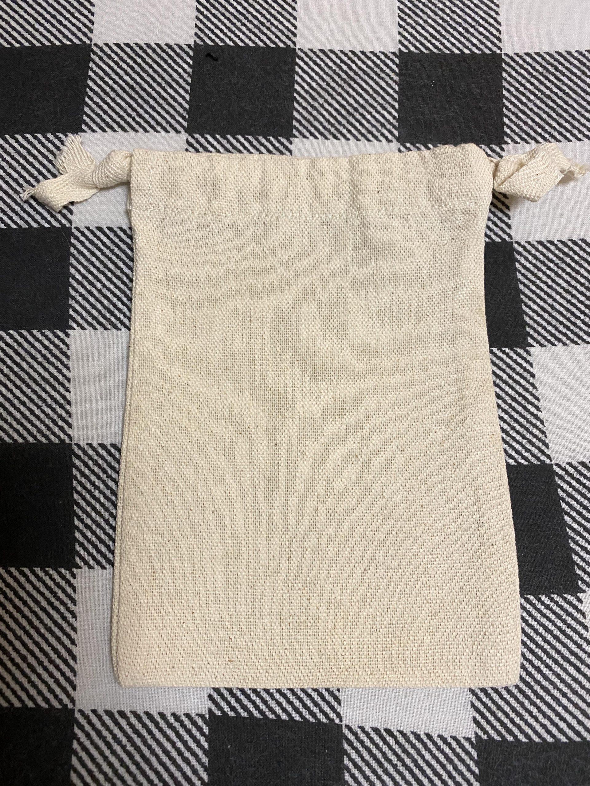 Muslin Drawstring Bag