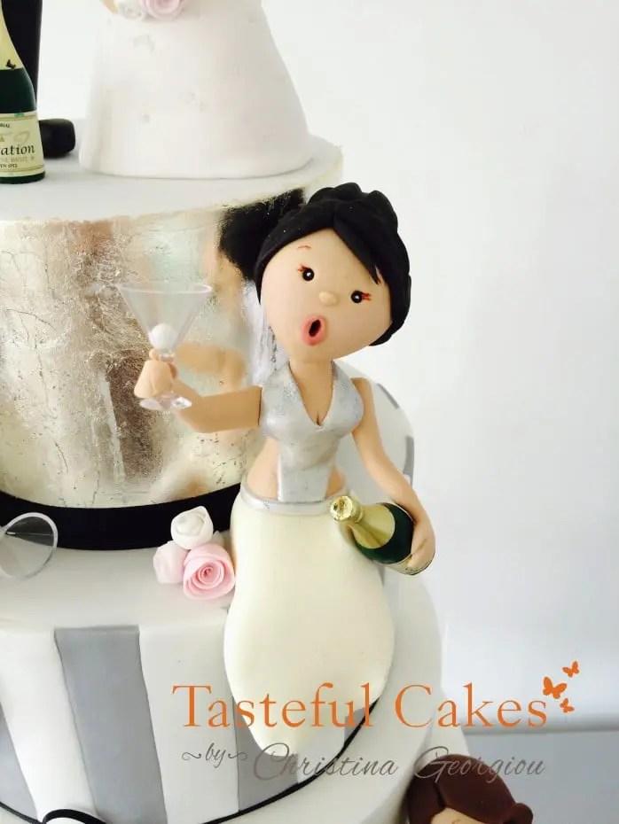 Tasteful Cakes By Christina Georgiou Funny Drunk Themed