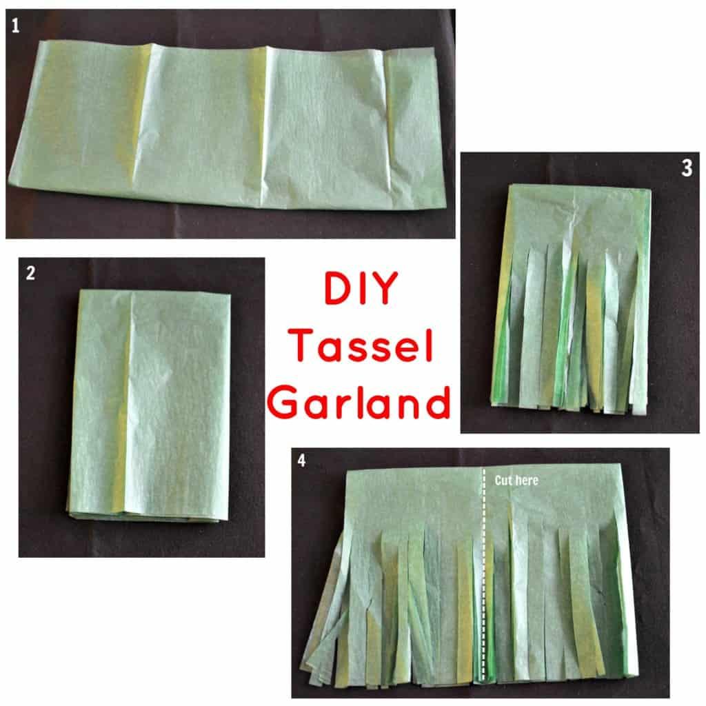 DIY Tassel Garland Tutorial