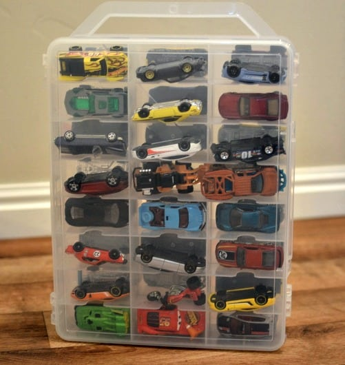 The BEST Toy Car Organizer