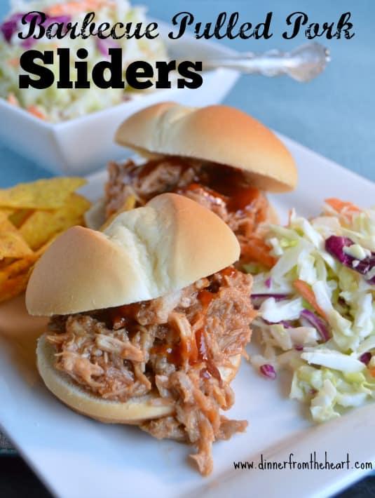 Barbecued Pulled Pork Sliders