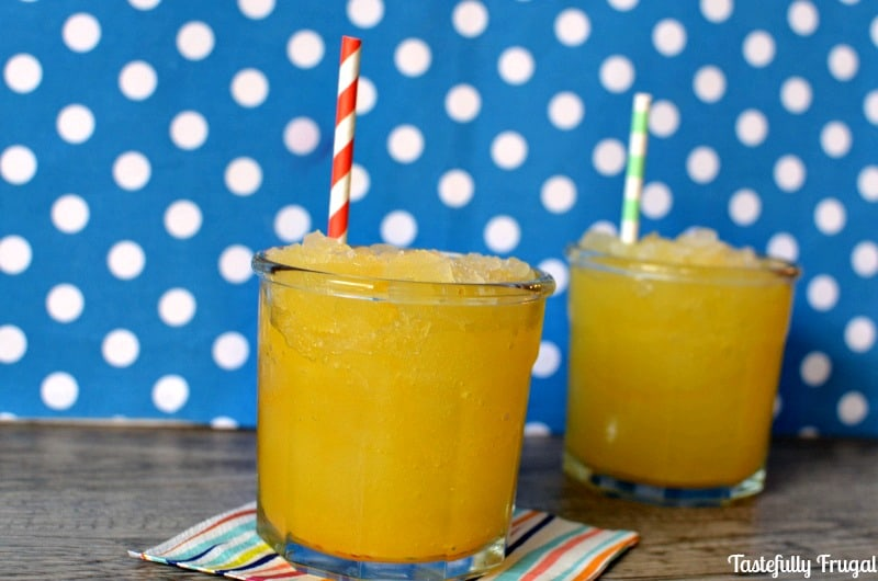 Tangy Citrus Sunny D Slush: This sweet treat is sure to keep you cool this summer!
