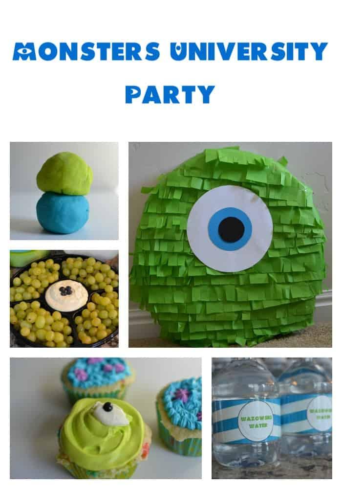 Monsters University Party www.tastefullyfrugal.org