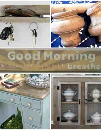 Projects using Weatherwood Stain products {Canary Street Crafts}