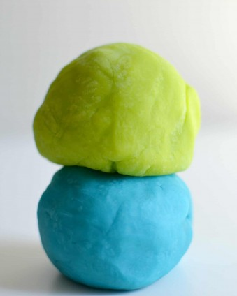Monsters Inc. Play Dough www.tastefullyfrugal.org