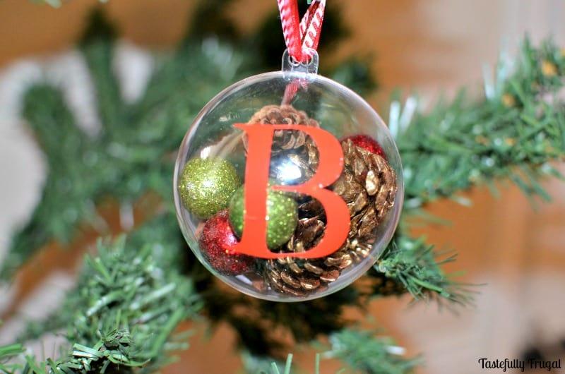 DIY Rustic Ornament | Tastefully Frugal