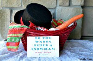 Do You Wanna Build A Snowman Neighbor Gift
