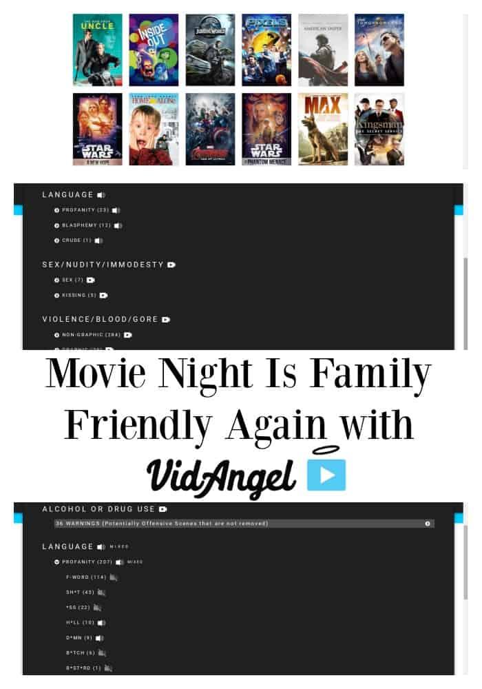 Movie Night is Family Friendly Again with VidAngel | Tastefully Frugal ad