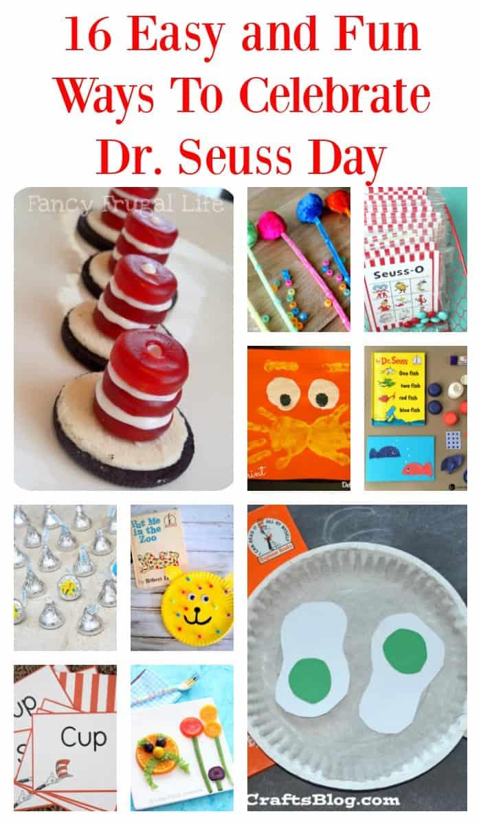 16 Easy & Fun Ways To Celebrate Dr. Seuss Day | Tastefully Frugal