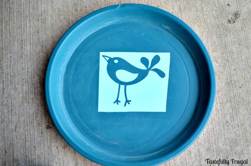 DIY Bird Bath: Make Your Own Bird Bath With Terra Cotta Pots AD #CompleteWithGlade | Tastefully Frugal