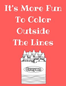 Add some color to your homeschool classroom or playroom with these FREE printables | Tastefully Frugal
