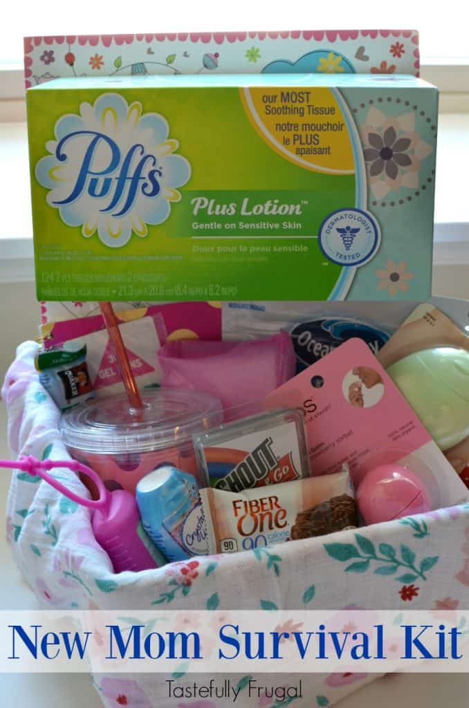 New Mom Survival Kit: Make the first days home with a new baby a little easier with these items   Tastefully Frugal