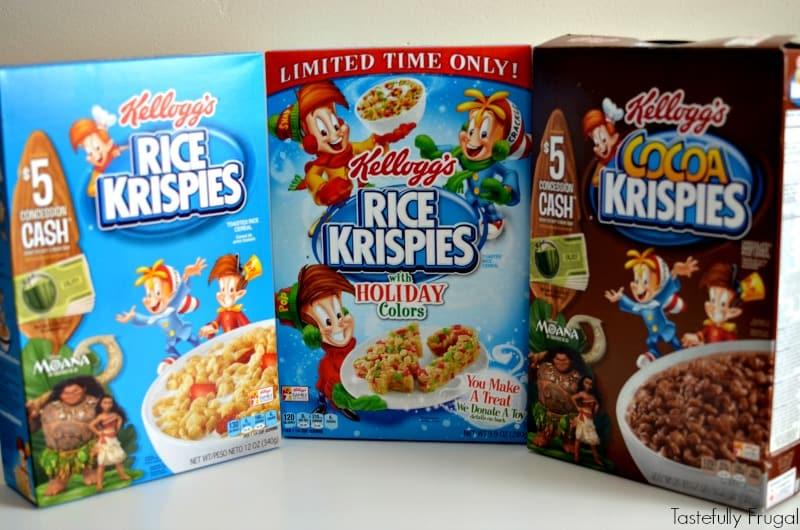Frosty & Rudolph Rice Krispie Treats: Festive Holiday Treats Made In Minutes AD #TidingsandTreats