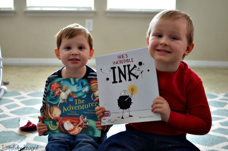 Bookroo: A book subscription box for kids of all ages. Read more to get a 20% off code!