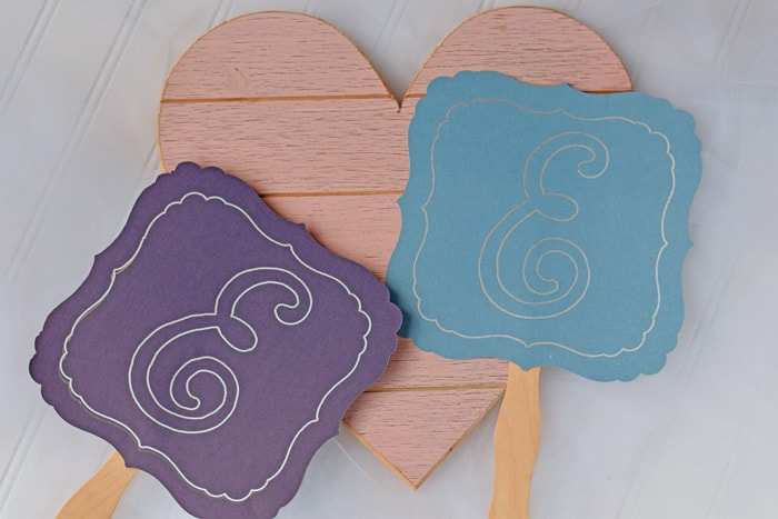 Wedding-fans-with-cricut