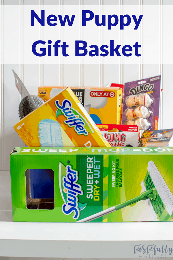 Create this fun and useful gift basket for any new pet owner!