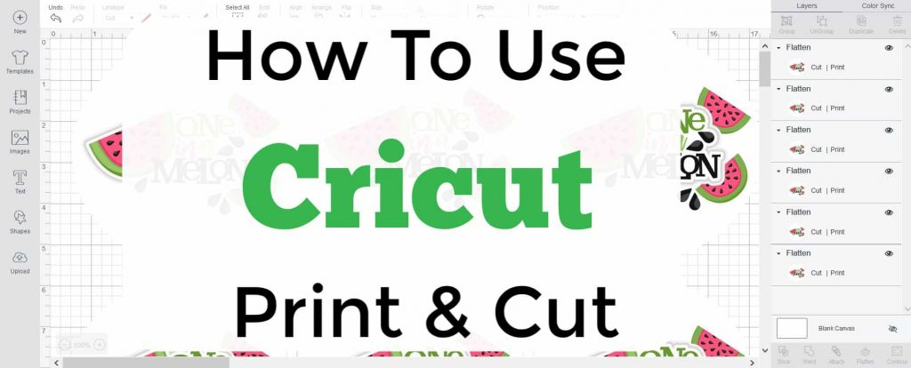 cricut print and cut promo graphic