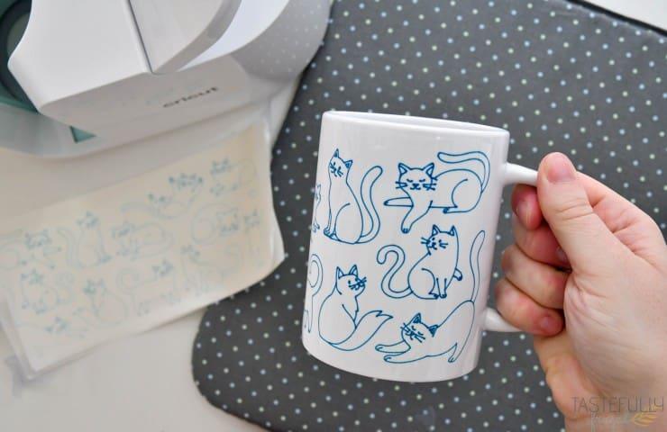 Cricut Infusible Ink Pens on Mugs