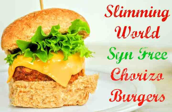 Slimming World Friendly Syn Free Chorizo Inspired Burgers