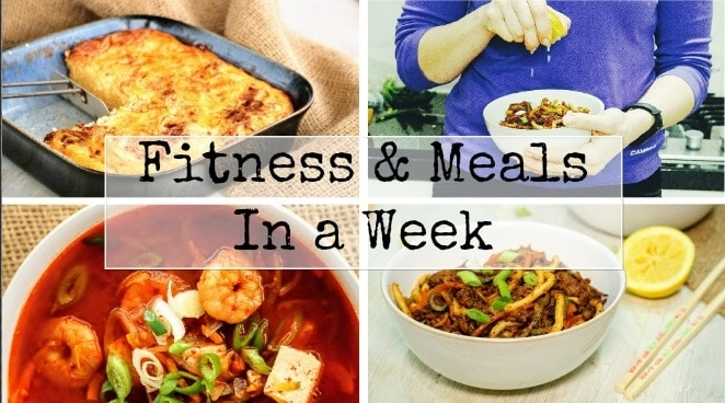 Fitness & Slimming World Meals in a Week