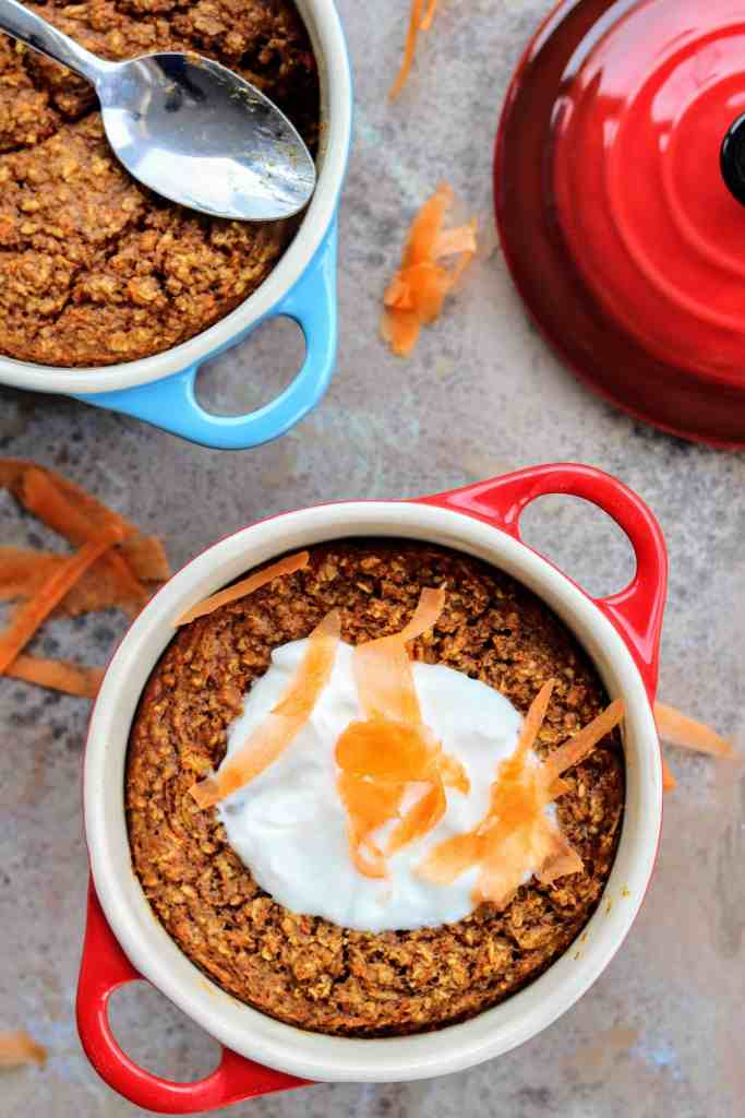Slimming World Baked Carrot & Parsnip Oats