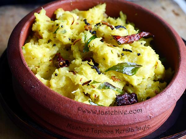 kappa Puzhukku / Mashed Tapioca Kerala Style