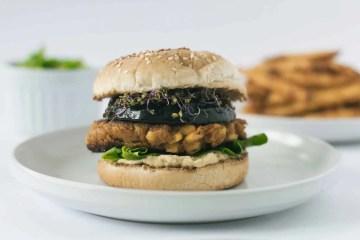 the best vegan burger ever