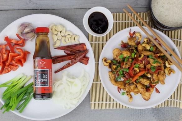 Kai Med Ma Muang – Thai chicken with roasted cashew nuts