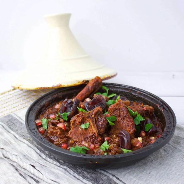 Moroccan Lamb Tajine