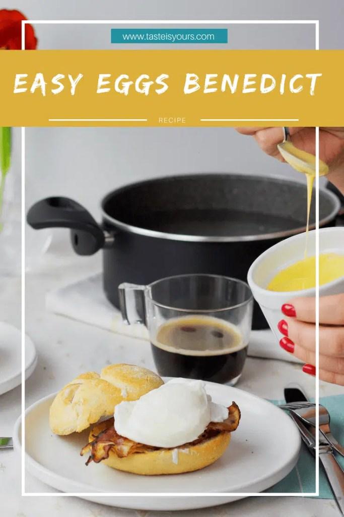 EasyRecipe for  Eggs Benedict