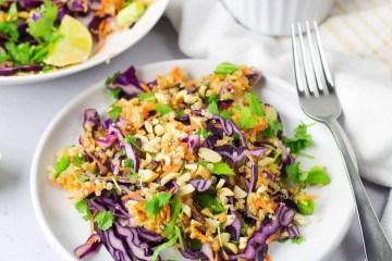 Thai Peanut & Quinoa Salad (VeGaN)