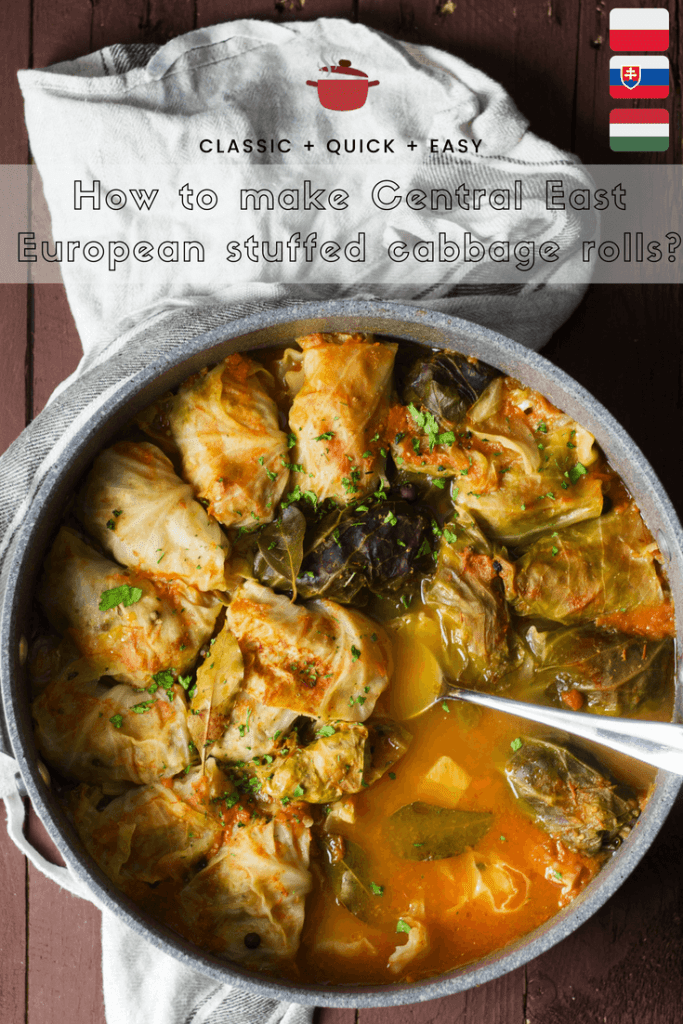 Stuffed cabbage rolls (golabki, holubki, töltött káposzta) perfect as a he​alth​y and satisfying summer meal for your family 1