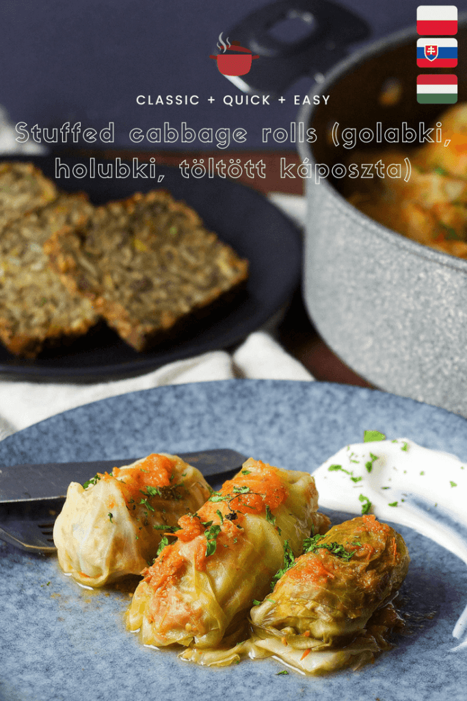 Stuffed cabbage rolls (golabki, holubki, töltött káposzta) perfect as a he​alth​y and satisfying summer meal for your family 2