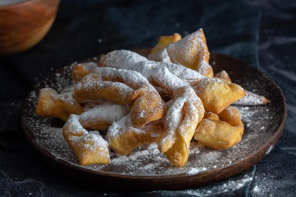 Polish Faworki - Delicious and easy traditional Polish dessert for