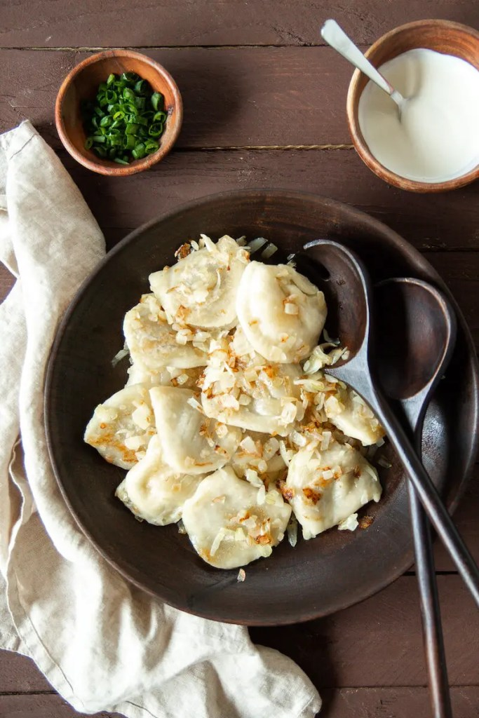 Polish duck pierogi - Amazing traditional Polish pierogi filled with duck meat and vegetables.