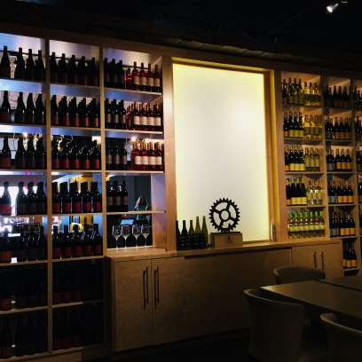 Wine Club back room view.