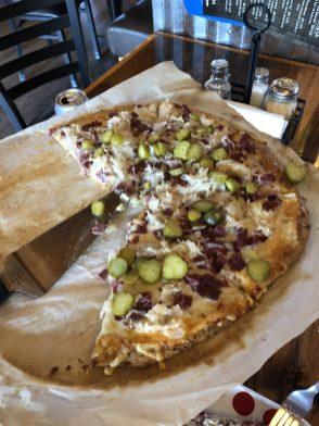 MoonRidge Brewing Company Reuben Pizza
