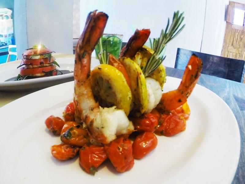 Shrimp at La Mezcaleria San Miguel de Allende