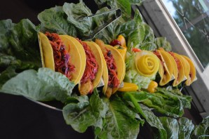 Scrumptious fish tacos