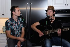 Music performers Paul and Julian Johnson, @paulandjulianmusic