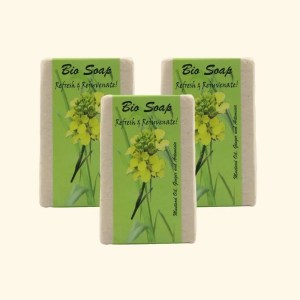 Artemisia and ginger Soap 1
