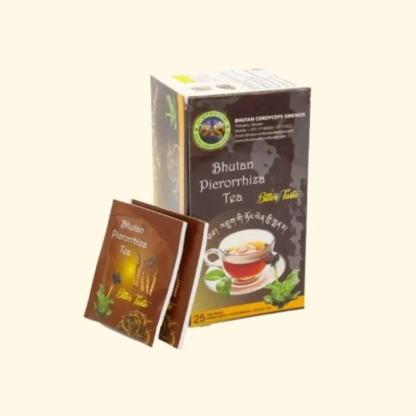 Bhutan Picrorhiza and cordycep tea 1
