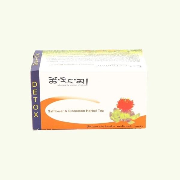 Safflower and Cinnamon Herbal Tea 2