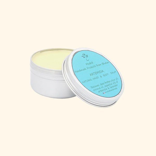 natural artemisia hand and body balm by Mudra 1