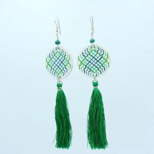 Rin Yang Earrings green