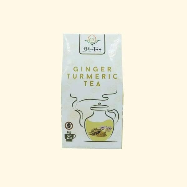 Bhutan Superfood - Ginger Turmeric Tea 2